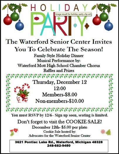 Senior Center Holiday Party