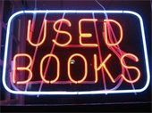 Used Books Neon Sign