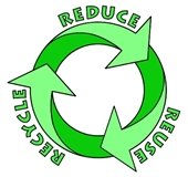 reduce reuse recycling with arrows