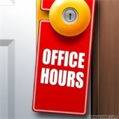 Office Hours Door Hanger