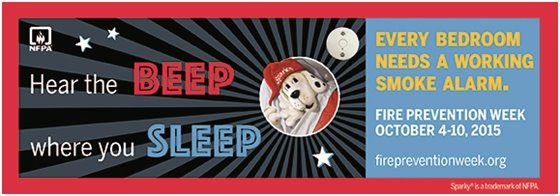 Hear the beep where you sleep, every bedroom needs a working smoke alarm