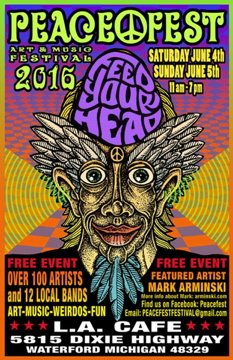 Peacefest June 4 & 5, 2016