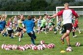 British Soccer Camp Photo
