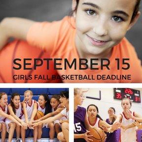 Girls Basketball Deadline