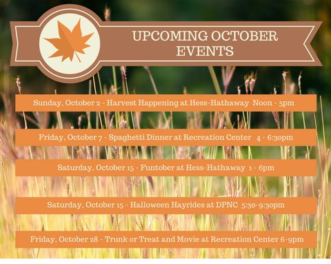 Oct events