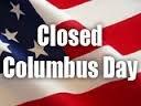 Closed Columbus Day