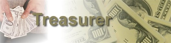 Treasurer banner