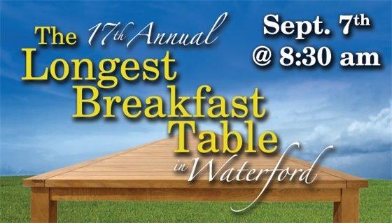 17th Annual Longest Breakfast Table