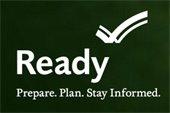 Ready. Prepare, plan, stay informed.