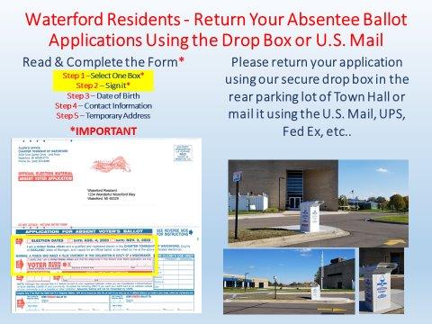 Absentee Ballot Application Return