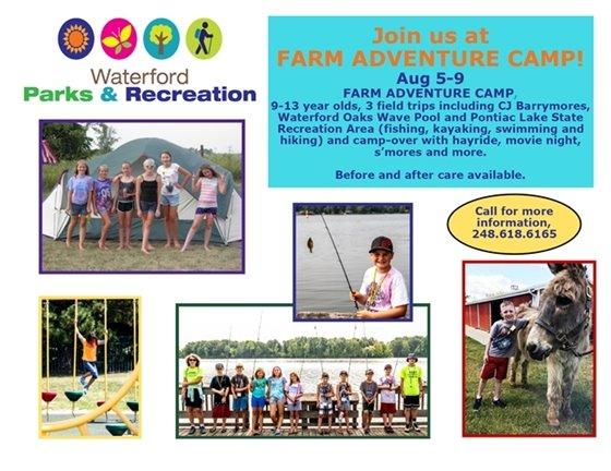 Farm Adventure Camp
