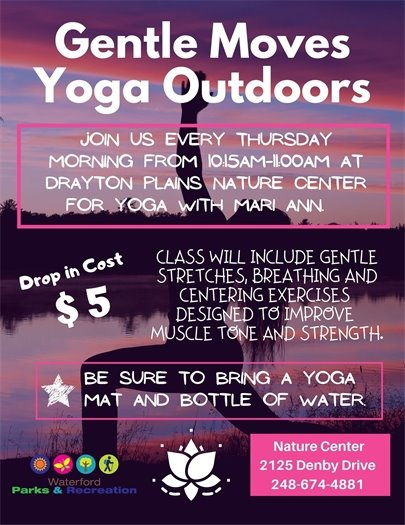 Gentle Moves Yoga Outdoors