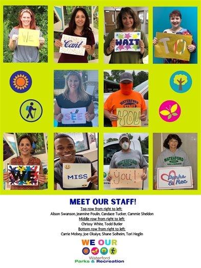 Meet the Staff Image