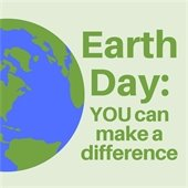 Earth day: You can make a difference