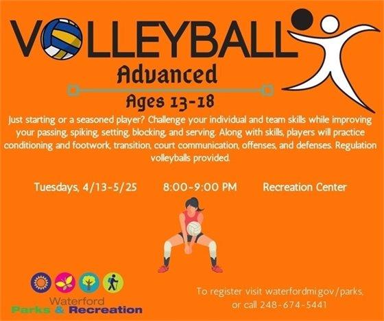 Advanced Volleyball