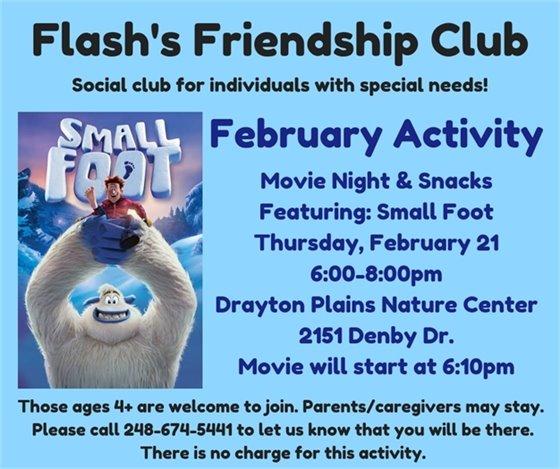Flash's Movie Night