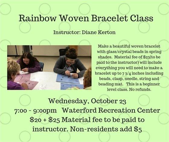 Rainbow Woven Bracelet