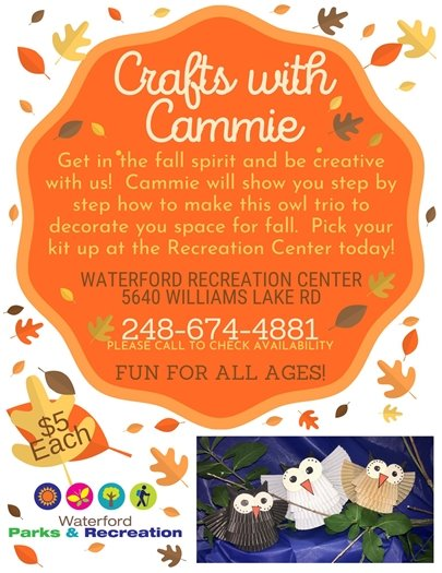 Crafts with Cammie - September