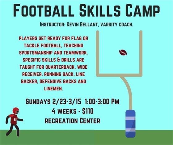Football Skills Camp