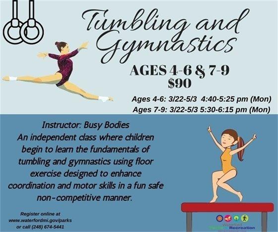 Tumbling and Gymnastics