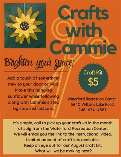 July Crafts with Cammie