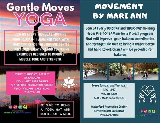 Gentle Moves Yoga & Movement Classes