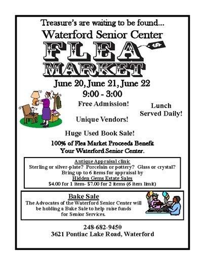 Waterford Senior Center Flea Market