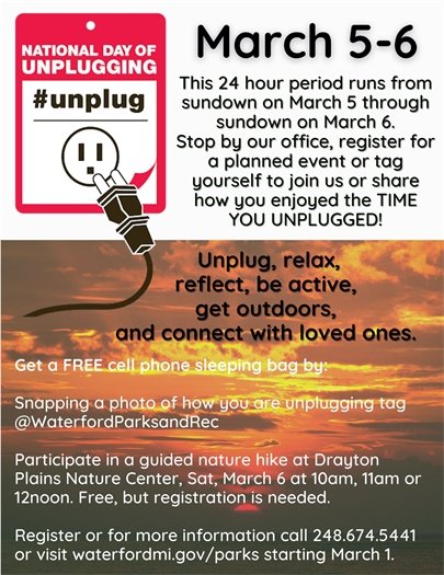 Unplugged Day