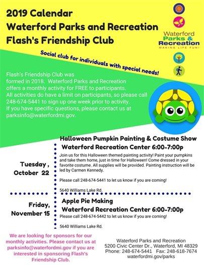 Flash's Friendship Activites