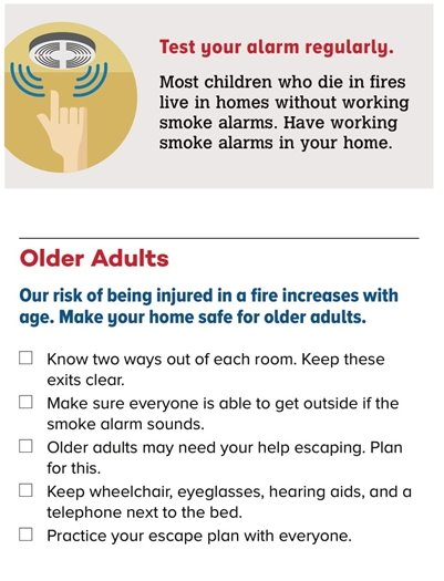 Protect Everyone: Test Alarms & Older Adults