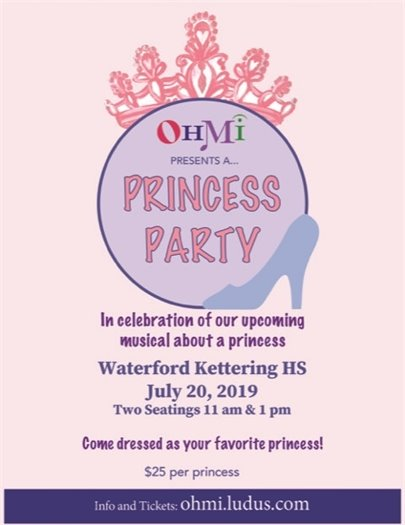 OHMI Princess Party