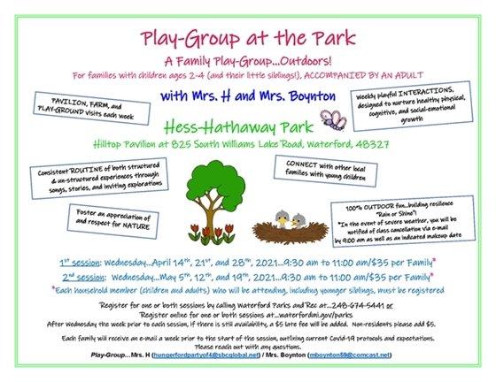 Play Group at Hess
