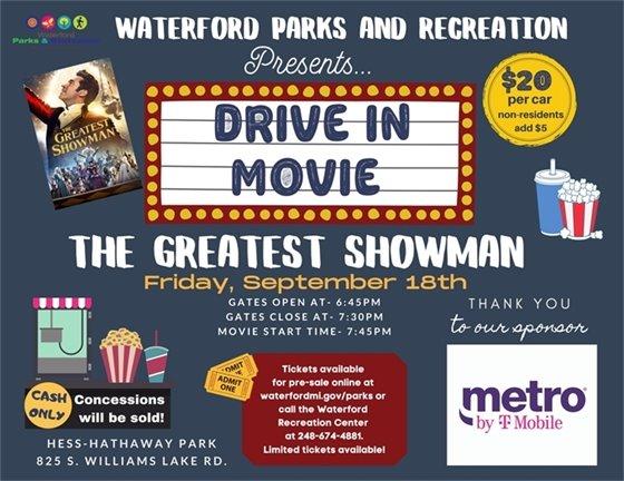 The Greatest Showman Movie Night