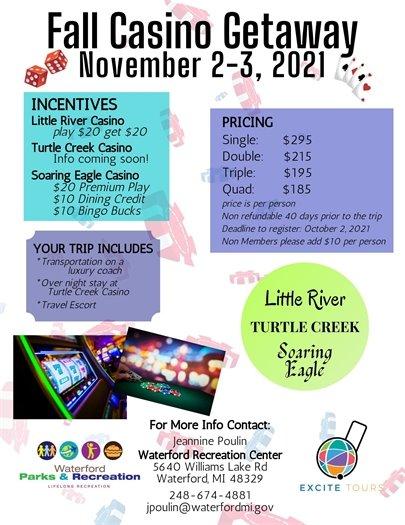 Fall Casino Getaway