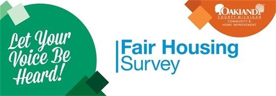 Fair Housing Survey