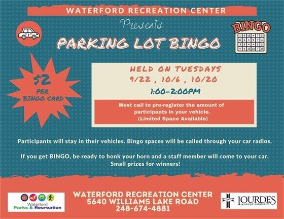 Parking Lot Bingo
