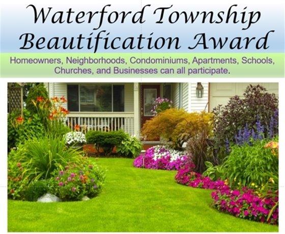 Waterford Beautification Award