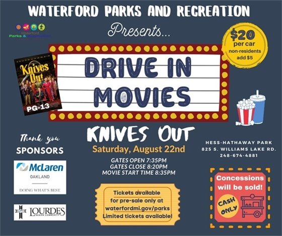 Knives Out Movie Night