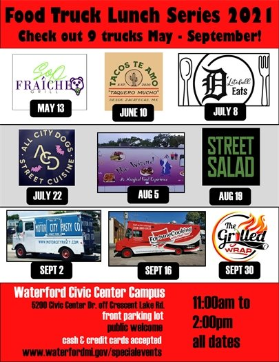 Lunch Food Trucks at Town Hall