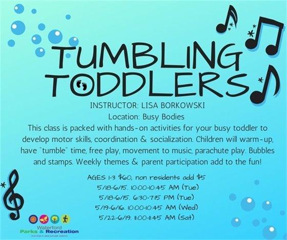 Tumbling Toddlers