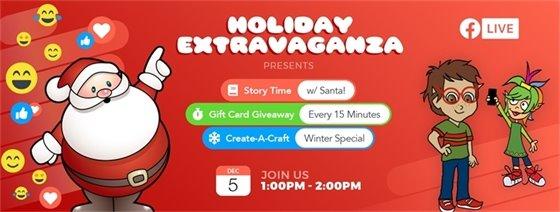 Holiday Extravaganza on Facebook Live