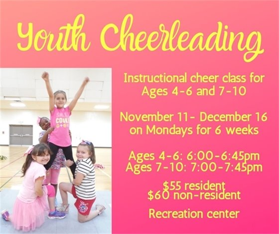 Youth Instructional Cheerleading