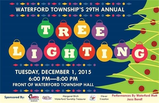 Tree Lighting December 1, 2015 6-8pm