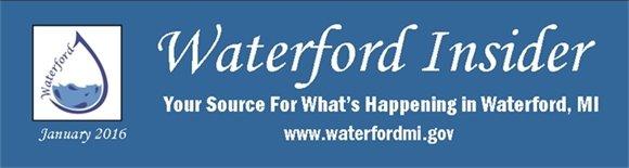 January 2016 Waterford Insider Headline Banner