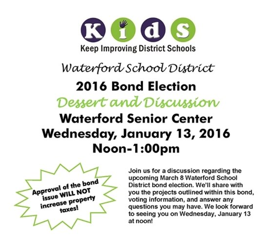 Waterford School District Bond