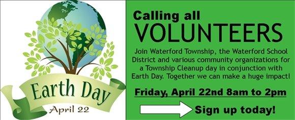 Seeking Earth Day Volunteers