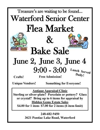senior center flea market