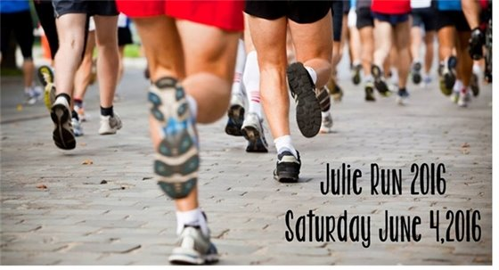 Julie Run to end hunger 2016