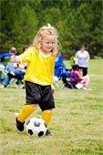 Youth Soccer girl