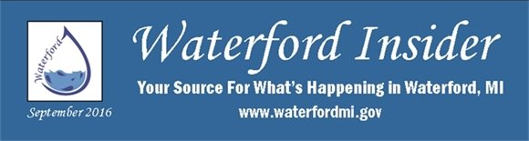 September 2016 Waterford Insider
